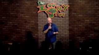 Hilton Price at the Loony Bin Comedy Club - October 2015