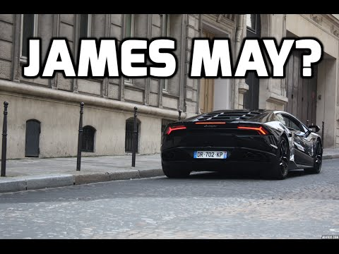 2 Hours Of Car Spotting In Paris July, 2016 - Aventador Roadster, 12C Spider, James May?