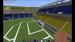 Minecraft-Fenerbahçe Şükrü Saraçoğlu Stadyumu