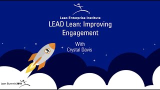 Gambar cover LEAD Lean: Improving Engagement with Crystal Davis