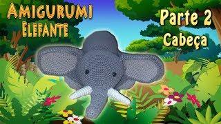Elefante amigurumi parte 2 Tutorial crochet - YouTube | Elefante amigurumi,  Elefante, Brinquedos de tricô | 180x320