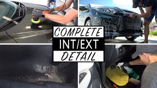 DIRTY CAR DETAILING || Full Interior and Exterior Cleaning of a Honda HR-V!