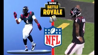 FORTNITE DANCES IN REAL LIFE NFL EDITION  HD