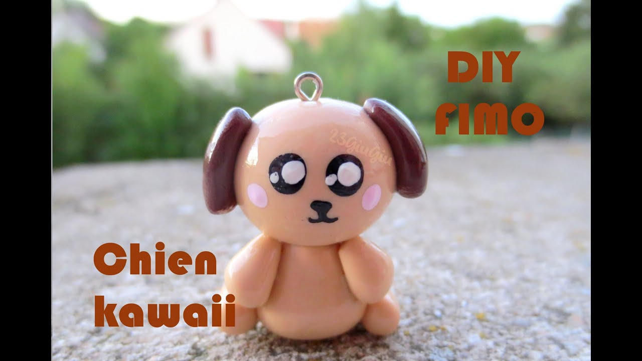 Tuto Fimo Le Chien Kawaii Youtube