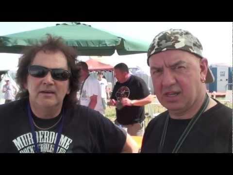 Interview with Graham Oliver and Steve Dawson (OLIVER DAWSON SAXON) - Aero Rock Starz Festival