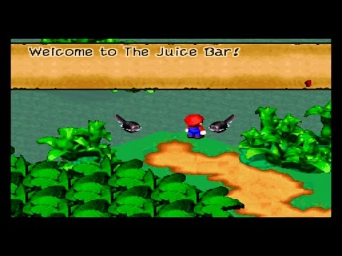Super Mario RPG Juice Bar & Frog Coin Emporium