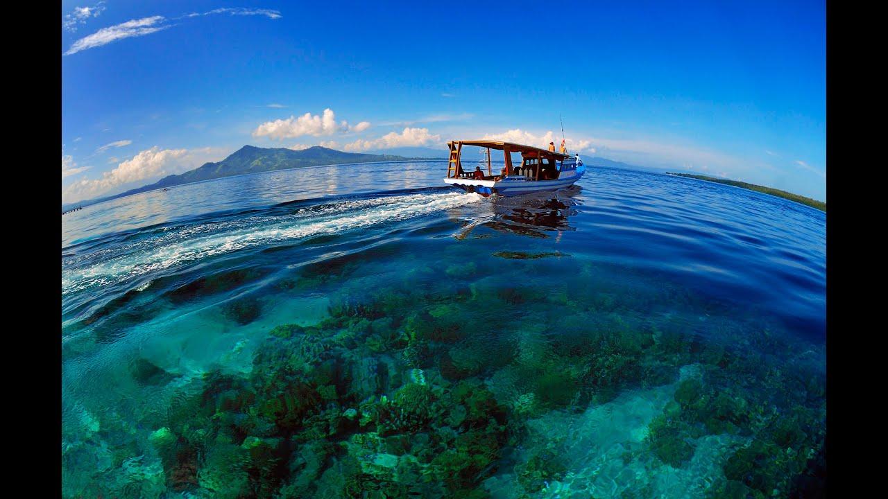 Diving In Bunaken Indonesia Youtube