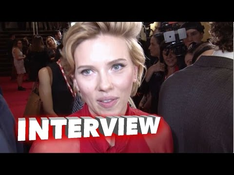 Sing: Scarlett Johansson Exclusive Interview TIFF Premiere (2016)