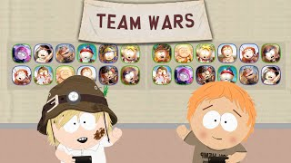 Team Wars #76 with both accounts | South Park Phone Destroyer