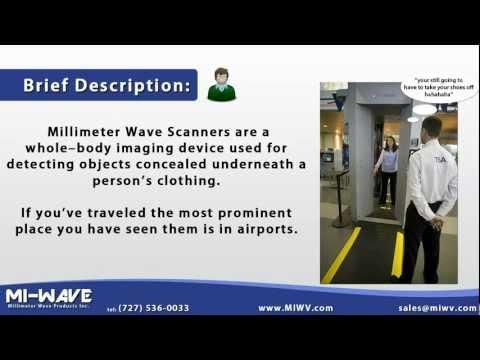 Millimeter Wave Scanner - YouTube