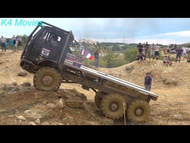 6x6 Mercedes-Benz truck in Europe truck trial   Langenaltheim, Germany 2018   no. 302