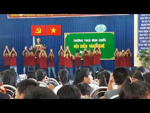 Dân vũ lớp 8a8 Trường THCS Bình Chiểu