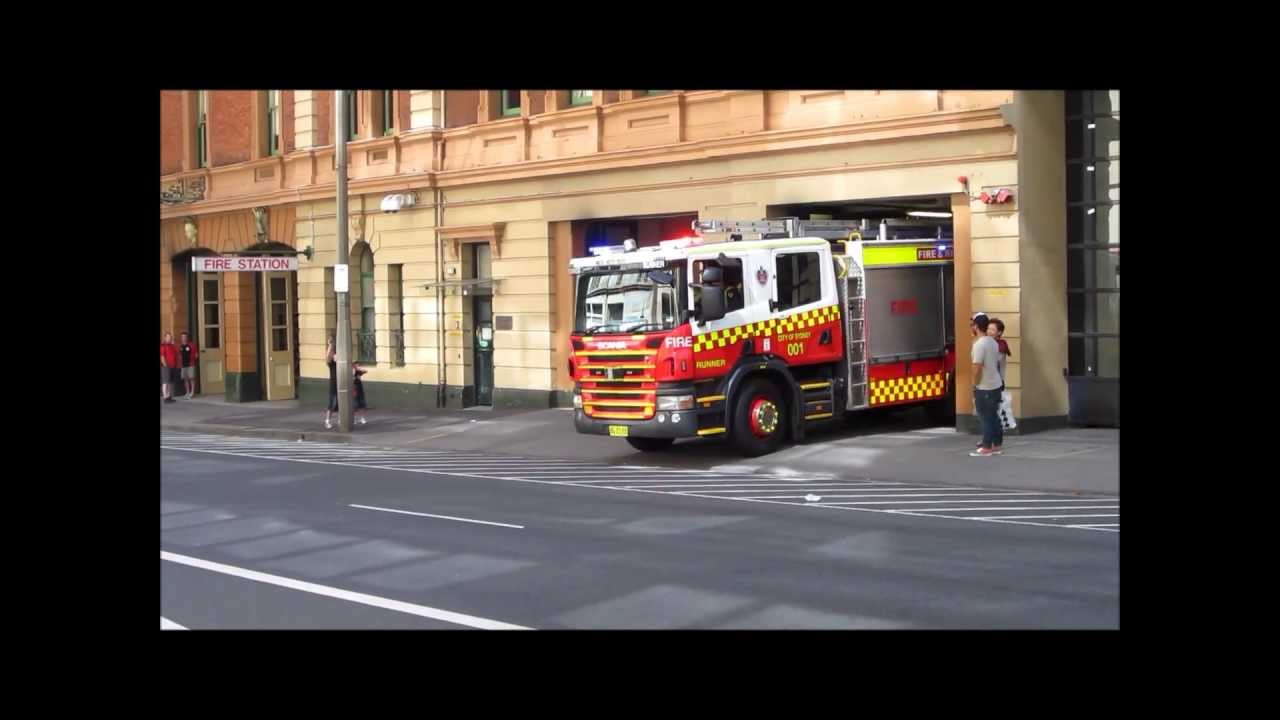 Fire Rescue New South Wales Pump 001 Flyer Pump 001