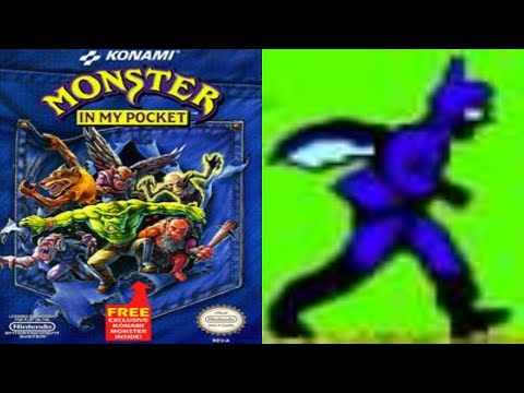 Batman & Flash - batman (Monster in My Pocket) - Nes Playthrough