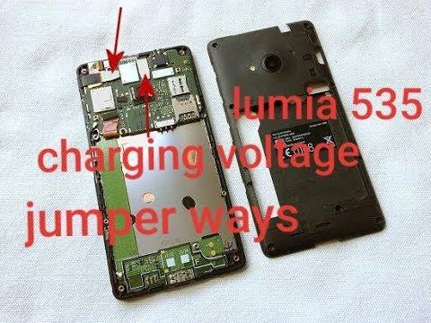 Nokia Lumia  535 Charging Voltage Jumper