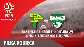 Ekstraliga kobiet: Górnik Łęczna - AZS PWSZ Wałbrzych - Na żywo