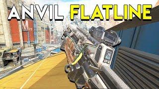 Anvil Receiver on the Flatline!  - Apex Legends