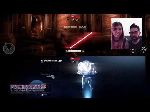 Nuestra primera vez: Star Wars Battlefront 2 Arcade ft. Mr. Fische - Reacción y opinión