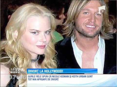 Nicole Kidman şi Keith Urban, tot mai aproape de divorţ