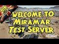 Afternoon pubg test server, Sunday 10th