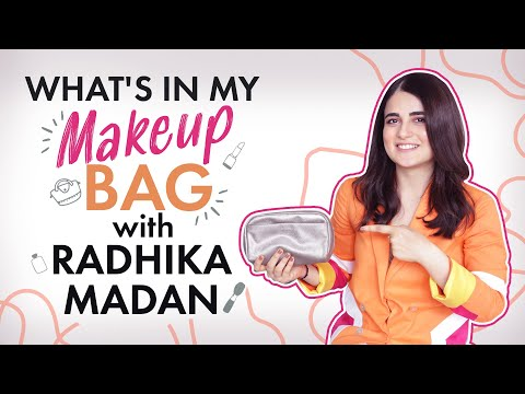 What's in my makeup bag with Radhika Madan | Fashion | Bollywood