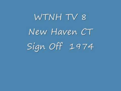 WTNH TV 8 New Haven CT  1974  Sign Off