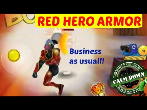 Red Hero Armor! Anti Explosive?? Respawnables - YouTube