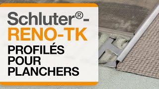 Comment installer le profilé de plancher: Schluter®-RENO-TK