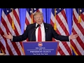 President Donald Trump Press Conference
