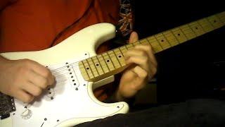 "Ace of Spades - Motörhead/""Fast"" Eddie Clarke - Guitar Solo Cover"