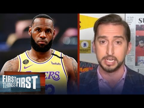 'The Last Dance' changed nothing, LeBron is still the GOAT — Nick Wright | NBA | FIRST THINGS FIRST
