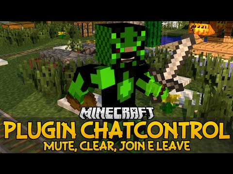 Plugin ChatControl - Mute, clear, join e leave Minecraft