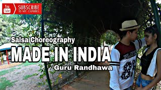 Guru Randhawa || MADE IN INDIA || Suman and Aarshi || Salsa Dance Performance || Choreography.