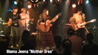 """Mama Jeena (ママジーナ) 1st album """"Mother Tree"""" リリースパーティが..."""