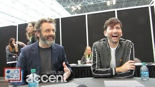 NYCC 2018: Good Omens -  Michael Sheen & David Tennant