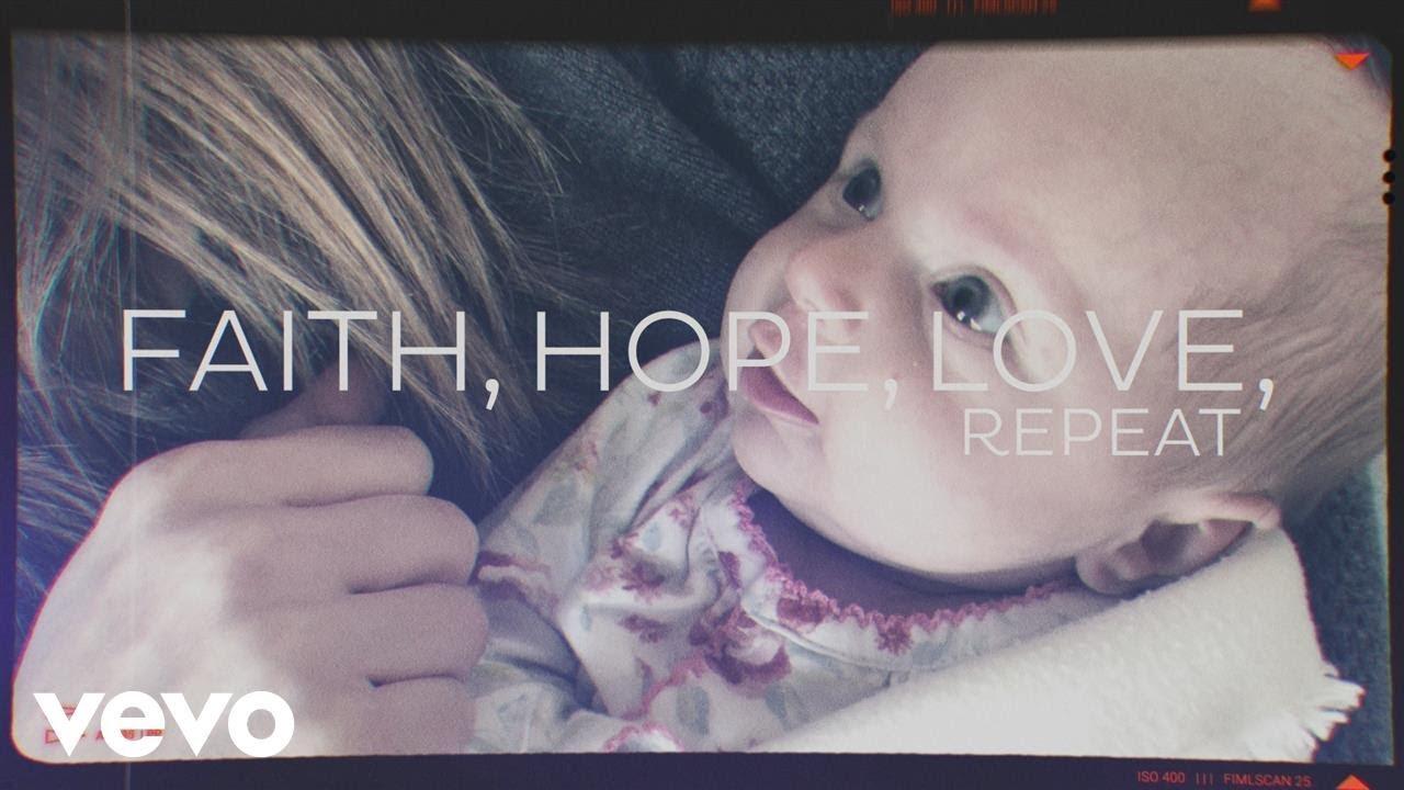 Brandon Heath - Faith Hope Love Repeat (Official Lyric Video)