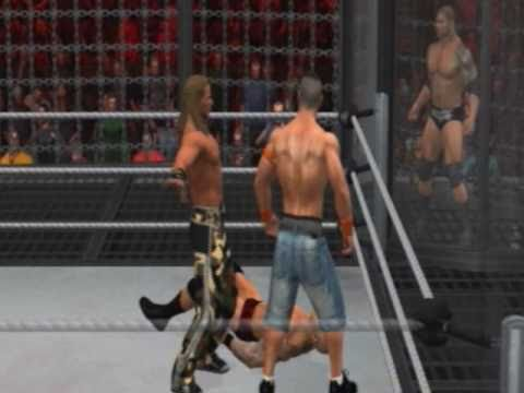 WWE SvR 2011 Elimination Chamber PPV WWE Title Match