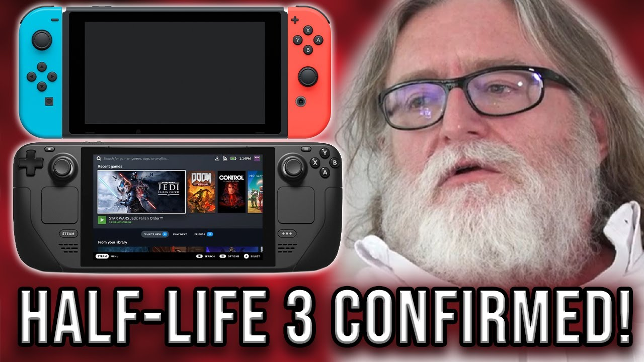The Valve Steam Deck CANNOT Be Compared To The Nintendo Switch!