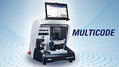 MULTICODE - Electronic key cutting machine