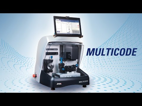 MULTICODE - Electronic key cutting machine