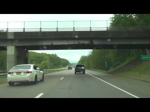 Connecticut - Interstate 395 North - Mile Marker 0 to 10