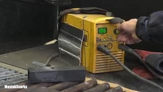 Настройка сварочного тока по таблице производителя