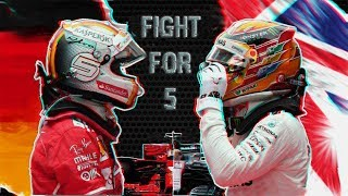 "2018 F1 Season – Hamilton vs Vettel – ""FIGHT FOR 5"" ᴴᴰ"