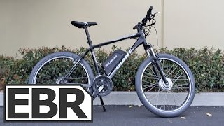 Dillenger 350W Geared Electric Bike Kit Video Review