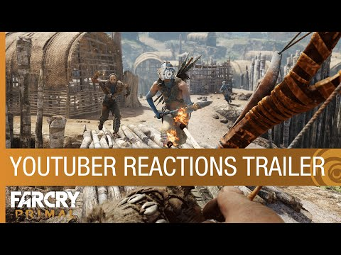 Far Cry Primal Trailer - YouTuber Reactions [NA]
