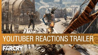 Far Cry Primal Trailer - YouTuber Reactions [US]