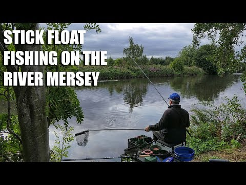 Stick Float Fishing On The River Mersey - With Alan Barnes