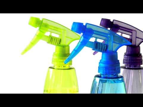 (3D binaural sound) Asmr sounds of spray bottle + footsteps sound effect / personal attention
