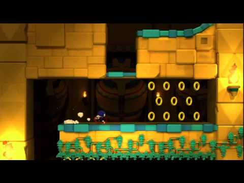 Sonic Lost World Let's Play! Part 3 The First Game Over and Zomnom! |