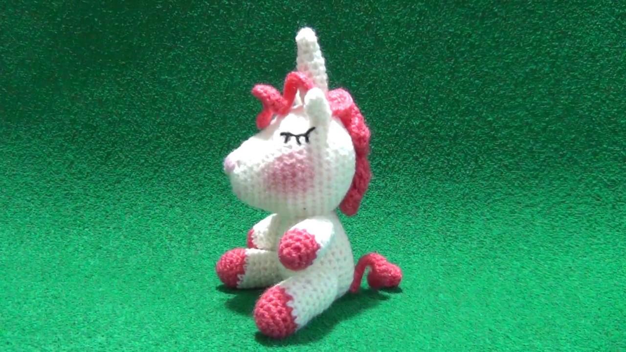 Amigurumi Unicornio Tutorial : Diy manta de apego unicornio parte crochet ganchillo tutorial